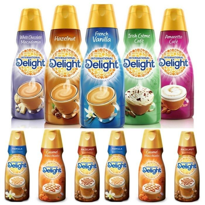 International Delight One Touch Latte Coffee Creamer Just