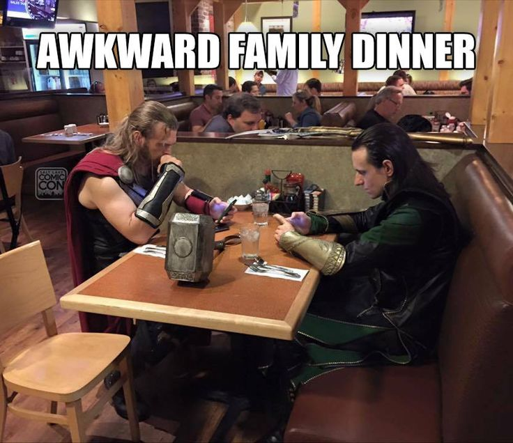 Let's hope this meal is... Lo-ki. #Avengers #Loki  /  http://saltlakecomiccon.com/slcc-2015-tickets/?cc=Pinterest