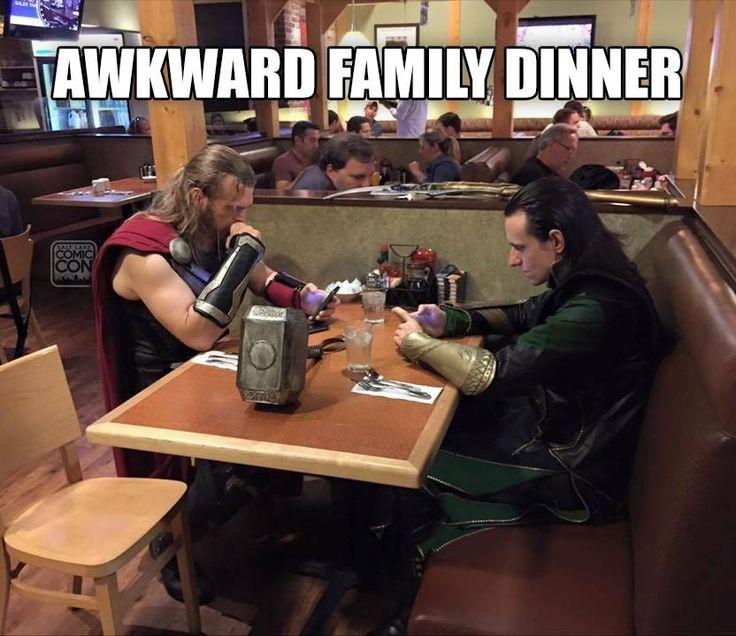 Let's hope this meal is... Lo-ki. #Avengers #Loki  /  http://saltlakecomiccon.com/slcc-2015-tickets/?cc=Pinterest