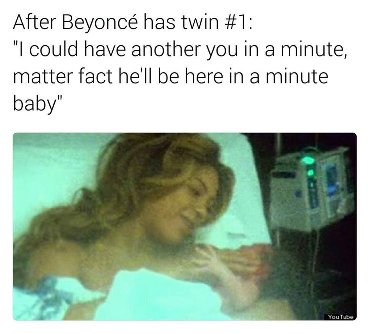 After Beyonce has twin #1: – The Official Petty Memes Website