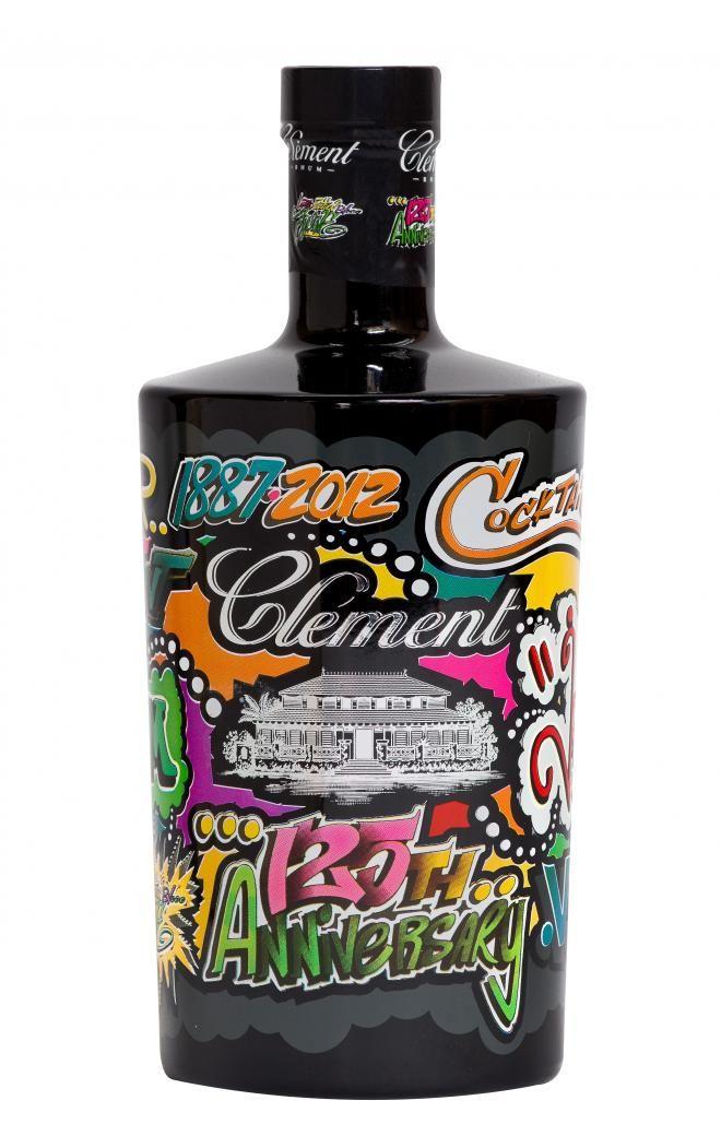 """Clément by Jonone, une bouteille """"street art"""" pour le 125e anniversaire du Rhum Clément"""