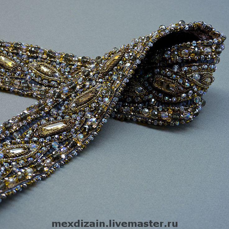 Вышивка кристаллами сваровски