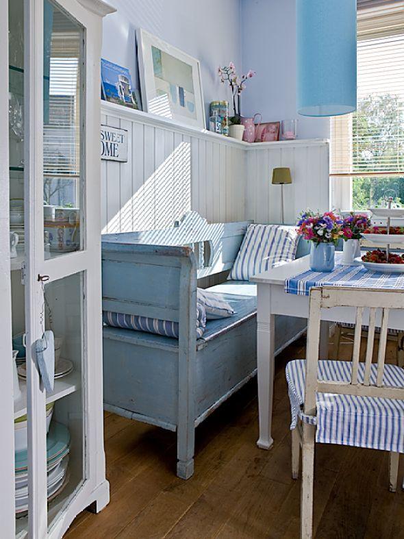 Die besten 25+ Blau und Weiß Ideen auf Pinterest Ingwer-gläser - wohnzimmer weis blau