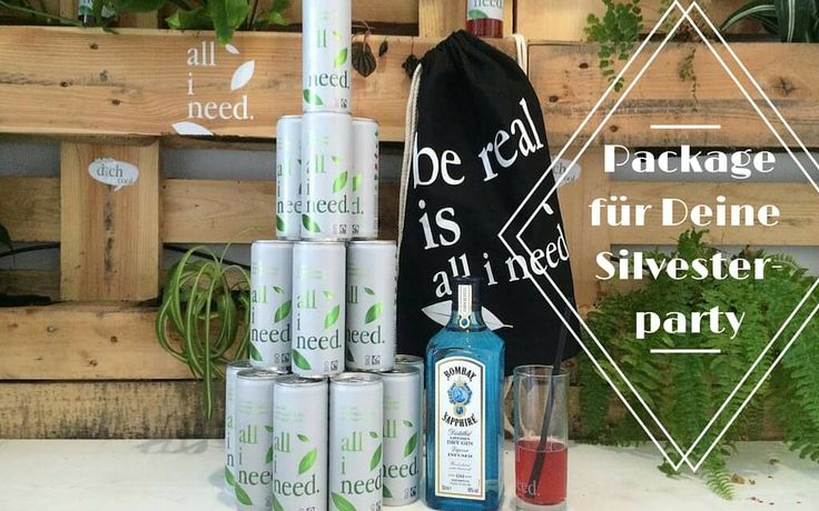 Zu gewinnen: Getränkepaket von all i need