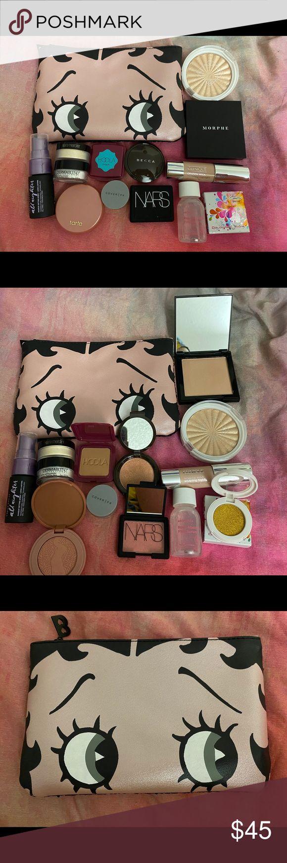 Makeup bundle and bag Ipsy Betty boop bag Urban decay all