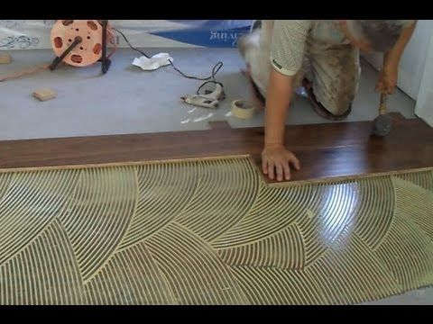How to Install Prefinished Hardwood Floor: Glue Down Technique