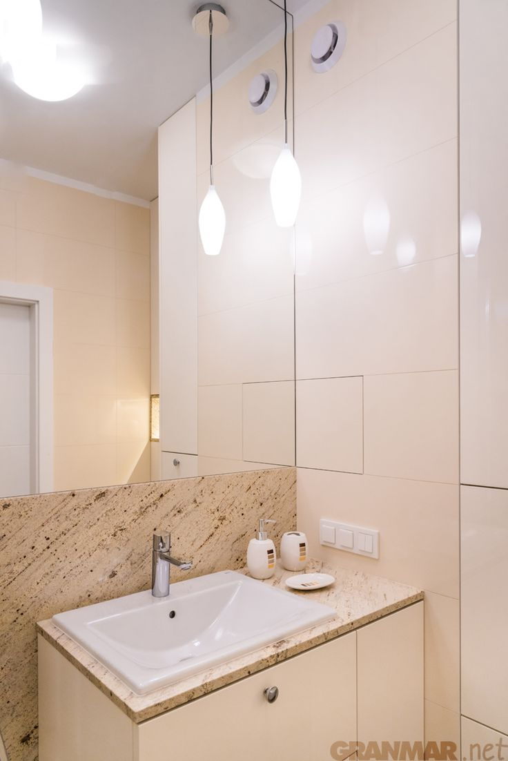 #Granite #Ivory #Cream #bathroom #Warsaw GRANMAR.net