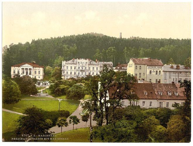 Marianske Lazne vintage postcard images