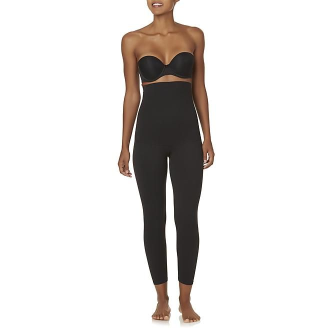 6782df213d4c83 Jaclyn Smith Jaclyn Smith Women's High-Waist Leggings/shapewear ~ MEDIUM  (Kmart)