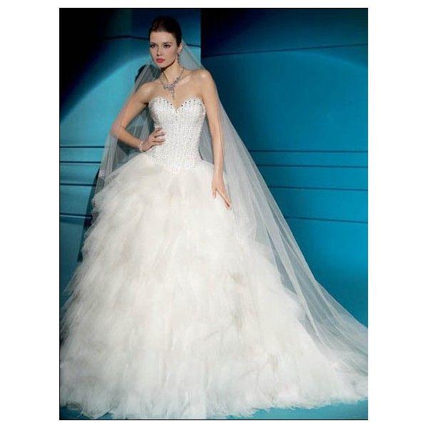 The 196 best Princess Wedding Dresses images on Pinterest | Short ...