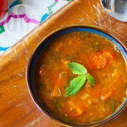 Wegańska marokańska zupa harira @ allrecipes.pl