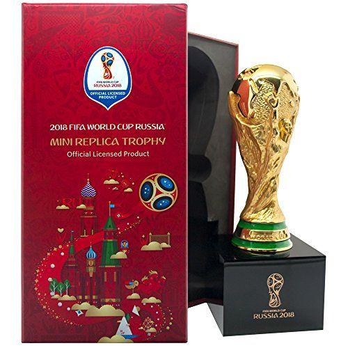 ICYMI: FIFA World Cup 2018 – Réplique du trophée de la Coupe du Monde sur socle: Réplique détailée du trophée de la Coupe du Monde FIFA sur…