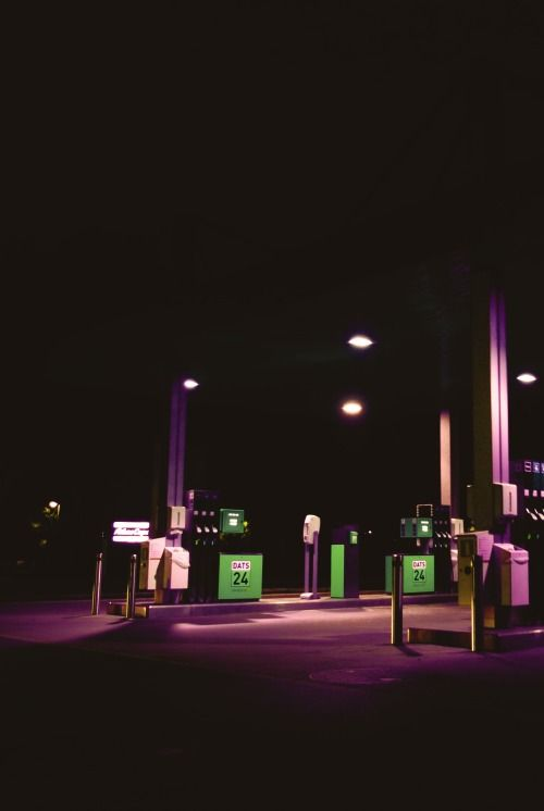 Neon & Gas Station