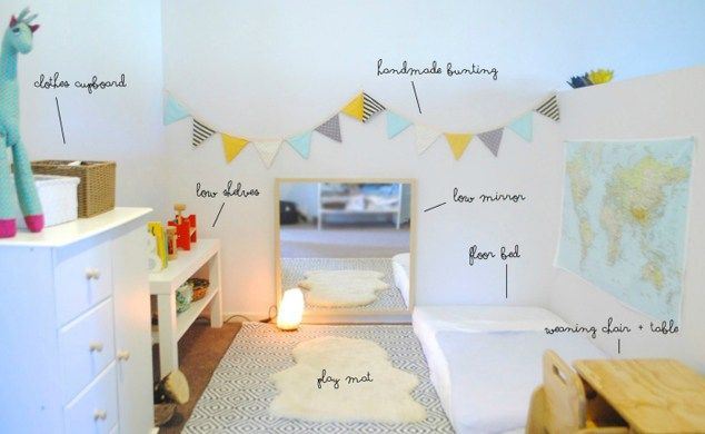 Set Up a Montessori Room for Your Toddler: Choosing the Right Furniture