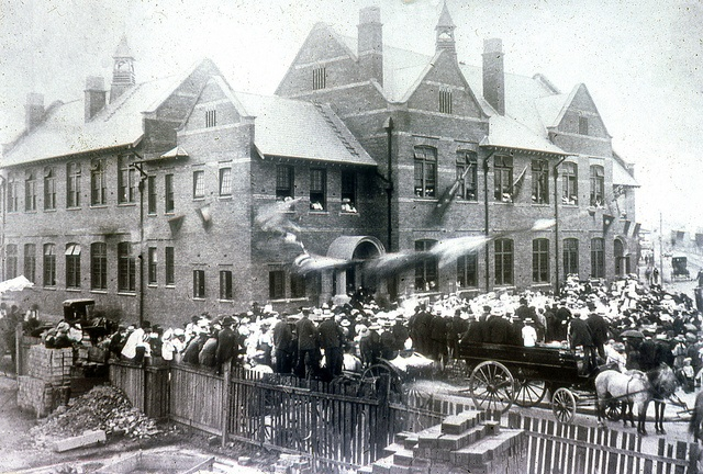 Wickham Public School Opening, 1904 - Cultural Collections, University of Newcastle, NSW, Australia