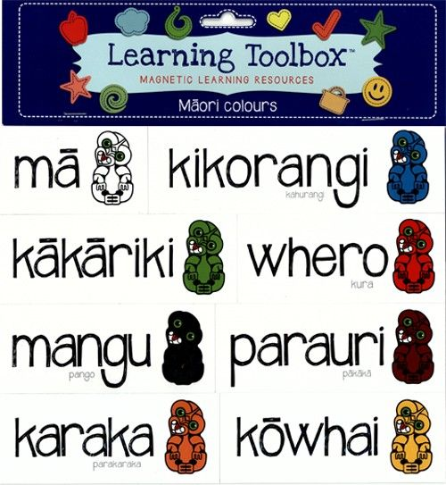 Magnetic Maori Colours | Teaching Resources