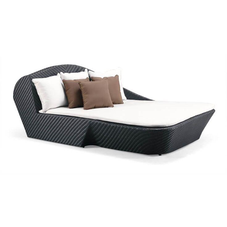 Island - meble ogrodowe z technorattanu zestaw wypoczynkowy - Twoja Siesta