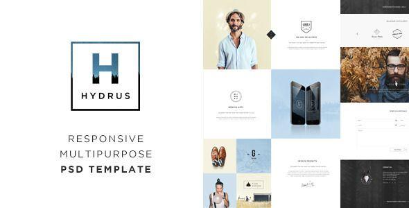 Hydrus - Responsive Multi-Purpose PSD Template