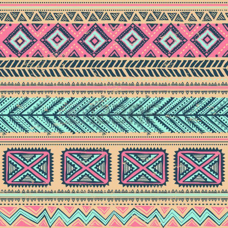 tribal design wallpaper brown - photo #12