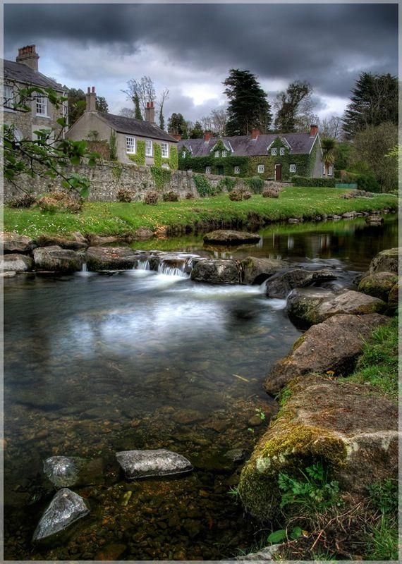 Fairy Glen Cottages, Rostrevor, Down, Northern Ireland