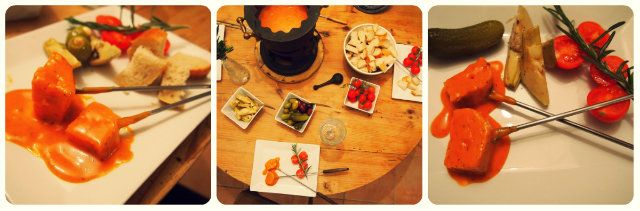 Veganes Tomaten-Käse Fondue - VeganBlatt