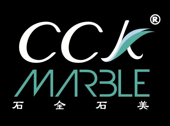 Our company logo with Chinese tagline 石全石美