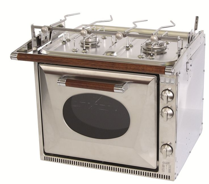 #Gasolspis #Dometic SMEV CU333 GTWM Ugn med grill och spis Gasolspis i rostfritt stål med ugn på 32 liter och 2 spisbrännare. Standardutförande inkluderar grillelement, ugnsbelysning, eltändning samtliga brännare, termostat med gasventil till ugnen, barnspärr samt kokkärlshållare. Obs! Balansupphängning säljes som tillbehör.