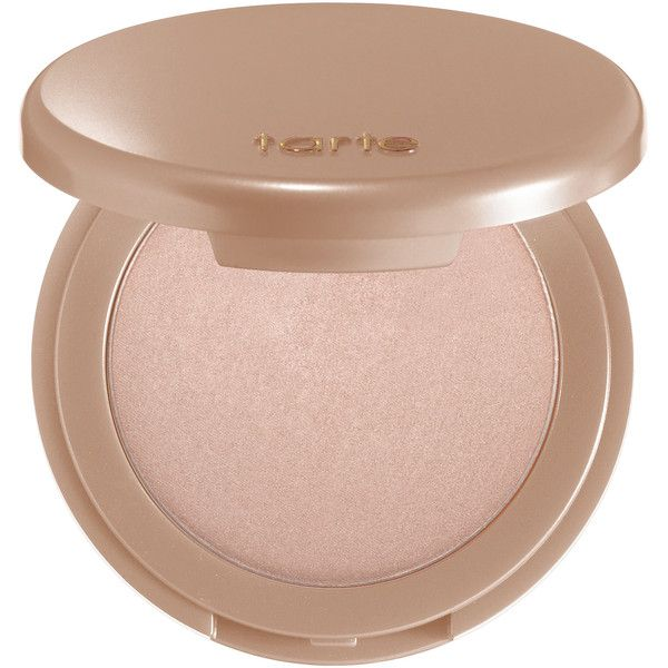 tarte Amazonian Clay Highlighter ($28) ❤ liked on Polyvore featuring beauty products, makeup, face makeup, tarte, paraben free cosmetics, tarte cosmetics, tarte makeup and paraben free makeup