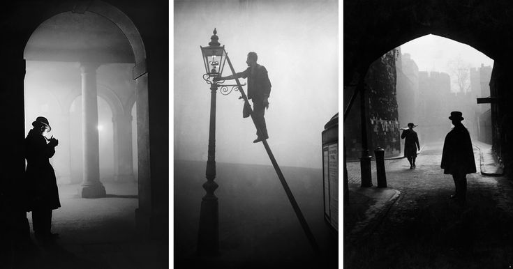 15+ Eerie Photos Of London Fog In The Early 20th Century | Bored Panda