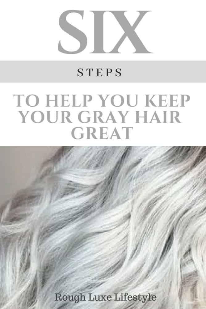 Friday Fun Stuff Tips For Going Gray Hair Grayhaircare Grey