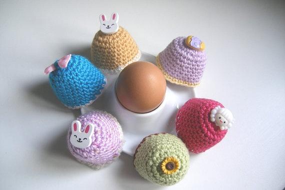 Easter Egg Cozi  Custommade single Cozi by HuggleKnits on Etsy, €4.95