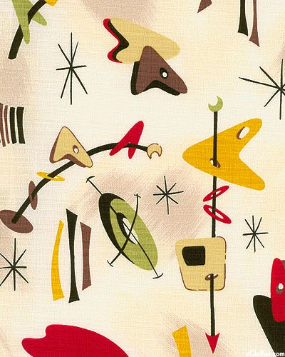 50s atomic boomerang kandinsky