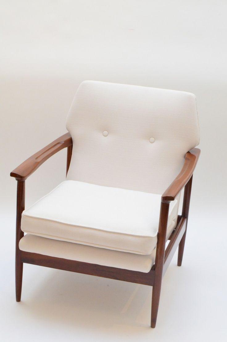 sillon escandinavo blanco