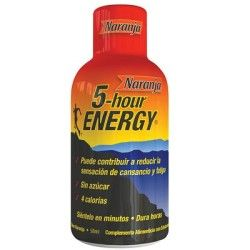 2,65€ Bebida energizante 5-hours ENERGY