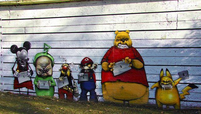 Street art. Just amazing
