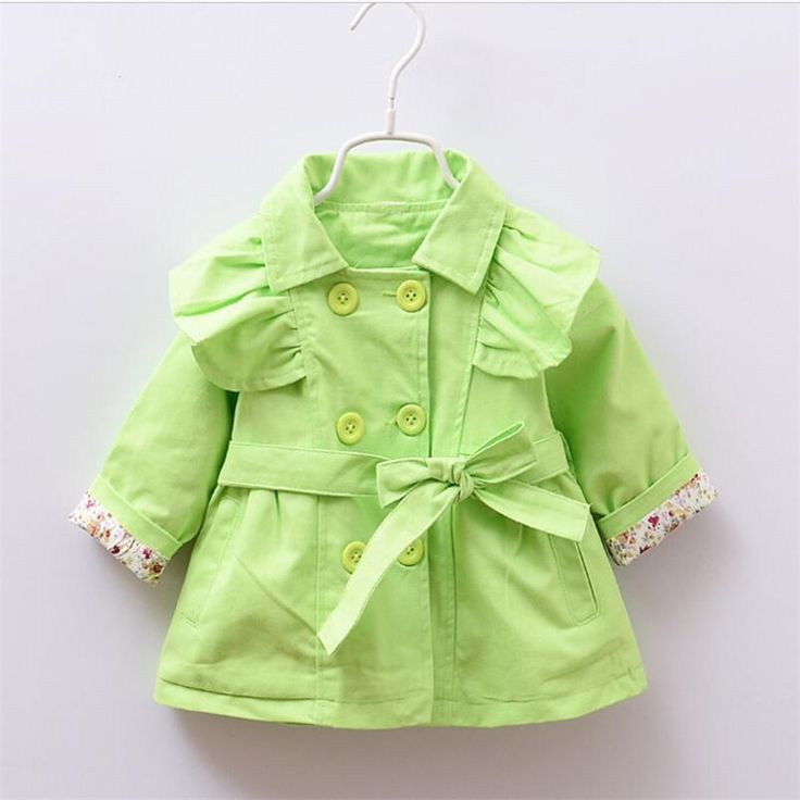 >> Click to Buy << autumn 2016 baby girls Korean Princess Baby cotton windbreaker jacket fashion candy color bowknot newborn coats #Affiliate