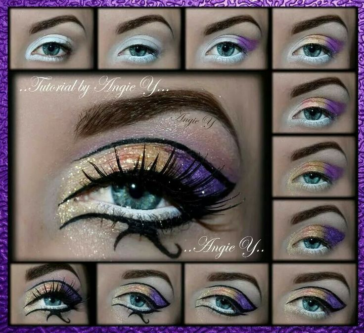 """""""Eye of horus"""" from the """"dark horse"""" video by katy perry  -follow me for  interesting makeup ideas and much more!"""