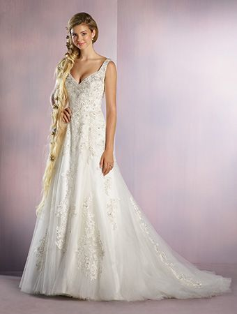 Alfred Angelo Bridal Style 255 from All Wedding Dresses - Rapunzel