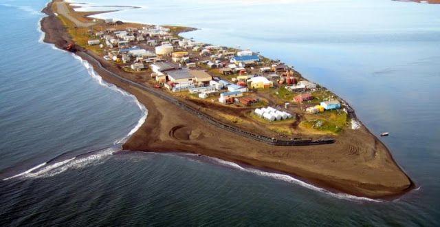 Η πόλη Shishmaref στην Αλάσκα