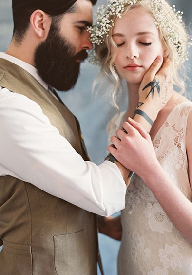 Claire Pettibone #Romantique 'Gardenia' wedding dress | Bohemian Rhapsody Collection