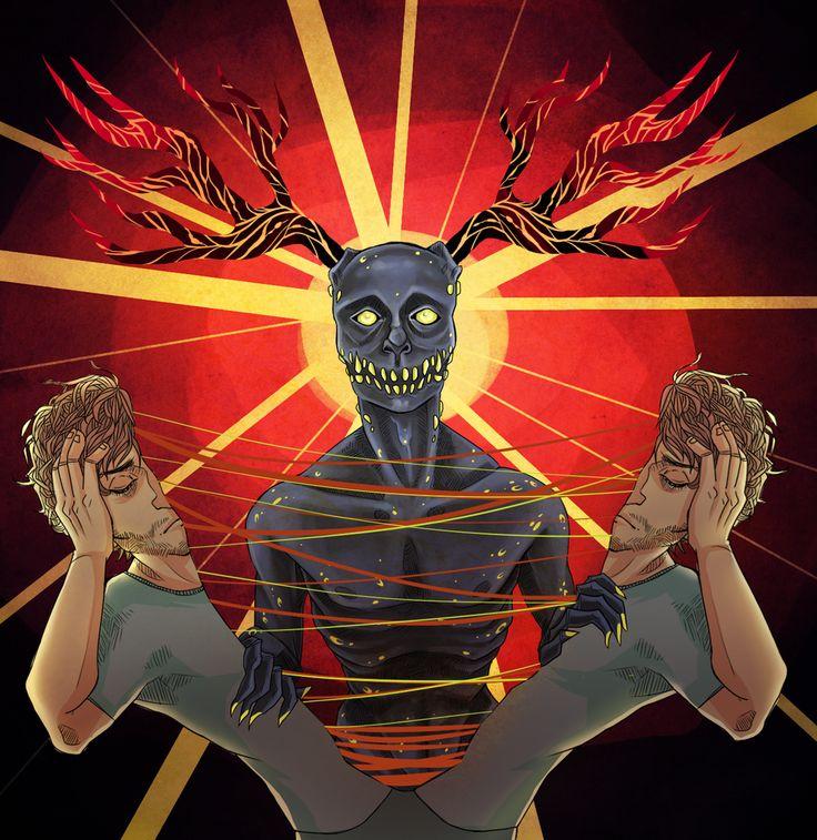 Inner Demons by bANANA-jAM.deviantart.com on @deviantART ...