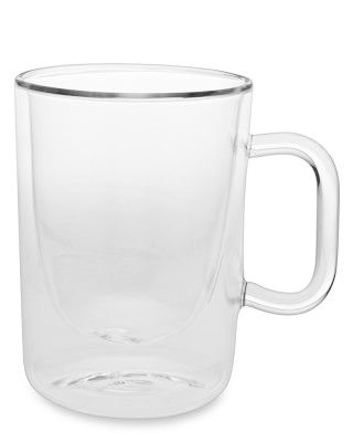 Double-Wall Glass Coffee Cups, Set of 2 #williamssonoma