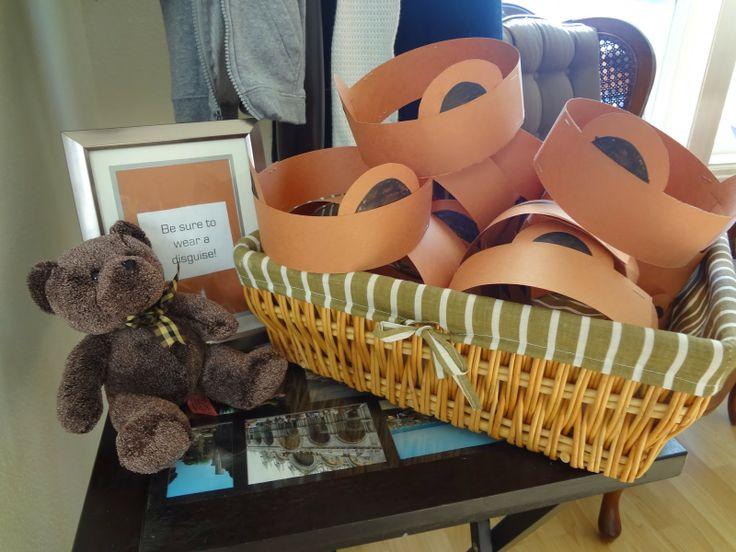 Teddy Bear Picnic Birthday Party: Teddy Bear ears for a disguise