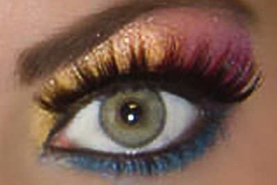 Pink, Gold, & Blue Shimmer... Oh Yes!