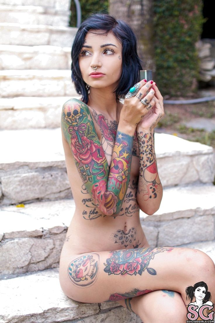 Pin by harry hardnut on goddesses of ink pinterest for Nude women tattoo