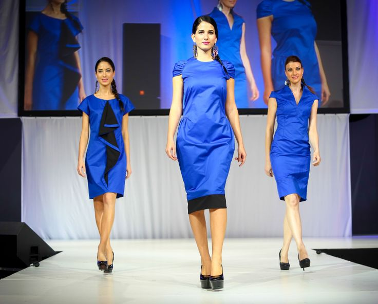 Blue dress collection