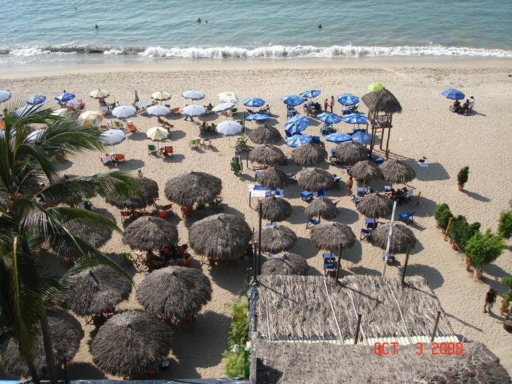 Puerto Vallarta Mexico: On The Beach