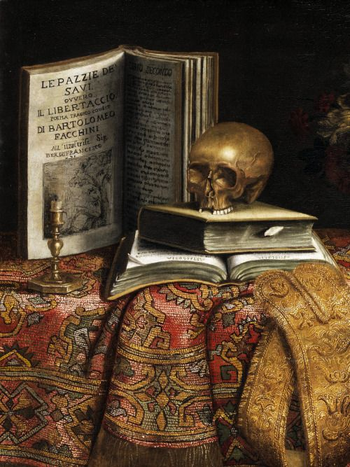 Pier Francesco Cittadini Vanitas (detail) 17th century