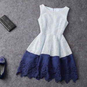 vestido lindo mujer