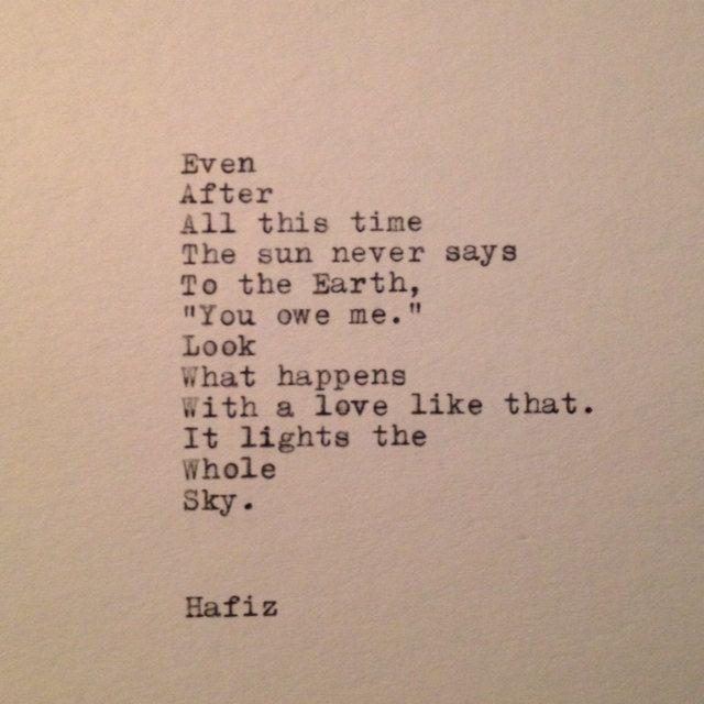 hafiz poem - photo #6